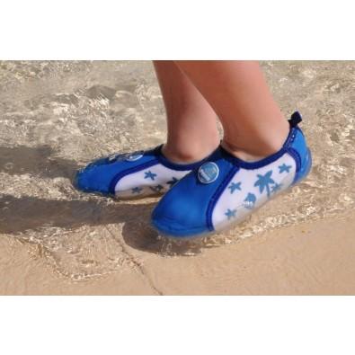 Aqua-Schuh Blau