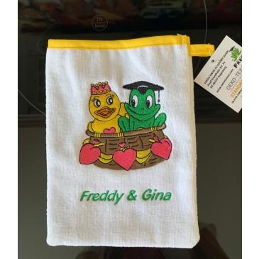 Fred & Gina Waschhandschuh
