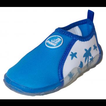 Aqua shoe blue