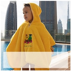 Fred & Gina Poncho yellow