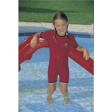 Neoprene swim overall