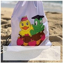 Fred & Gina waterproof bag